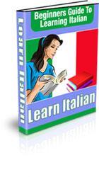 beginner italian guide