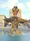 berninis fontana del tritone