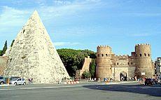 caius cestius pyramid