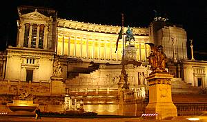 fact on italy piazza venezia