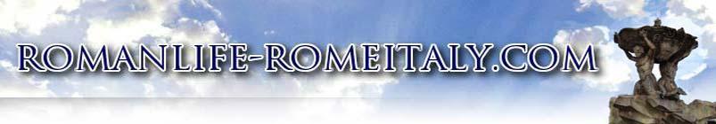 Roman life rome italy