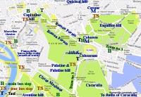 street map rome italy pantheon