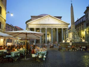 the pantheon restaurants nightlife