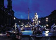 fontana dei quattro fiumi rome tourist attractions