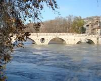 rome flood ponte sisto