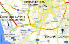 airports in rome fiumicino ciampino