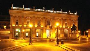rome italy piazza del campidoglio
