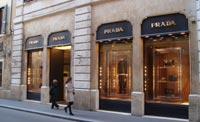 shopping in rome italy prada