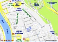 street map rome italy popolo