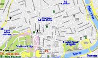 street map rome italy vatican city