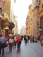 Via del Corso Piazza del popolo